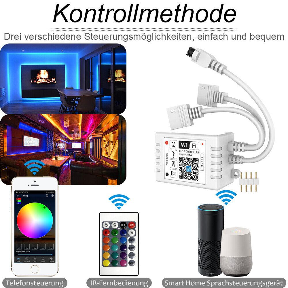 12-24V WIFI Magichome APP LED RGB Controller für LED Stripe Streifen Band Leiste