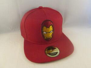 Marvel-Captain-America-Civil-War-Iron-Man-Cap-Hat-Bioworld-Snapback-Official