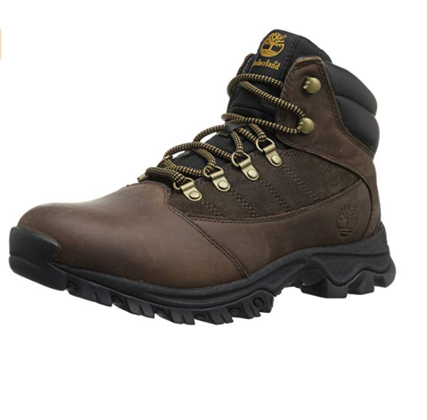 Timberland Rangeley All Weather Full Grain Leather Boots Hiker Brown Mens  9.5