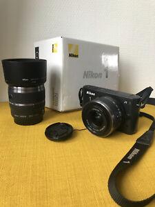 Appareil Photo Nikon J1 + Objectif Réaconditionné + Objectif NEUF + Accessoires
