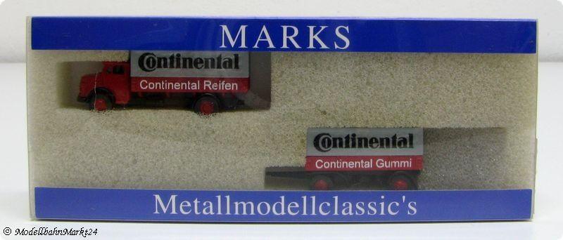 Marks 1386 MERCEDES L 911  continental  métal Neuw OVP
