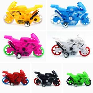 2pcs Plastic Motorcycle Pull Back Cars Toy Cars Kids Mini Car Model Toys ZB
