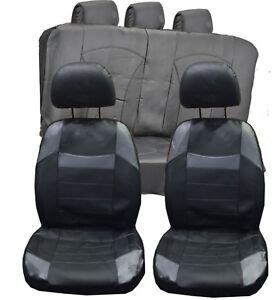 XL-G Grigio Universale Set coprisedili auto per ALFA ROMEO MiTo similpelle