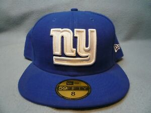 New-Era-59fifty-New-York-Football-Giants-On-Field-FITTED-BRAND-NEW-cap-hat-NY