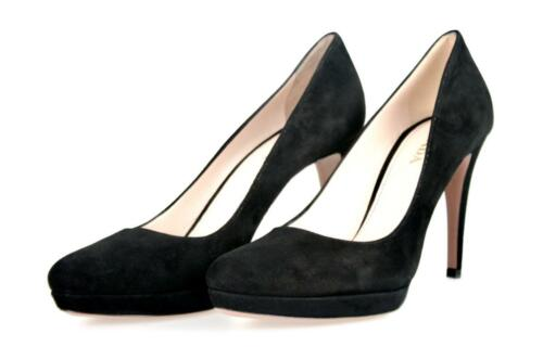Luxus Pumps Schwarz Neu Schuhe 5 39 Uk 5 6 1ip079 New Prada 40 rFC6wqr