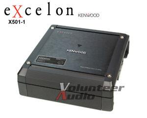 Kenwood-Excelon-X501-1-Class-D-Mono-Amplifier-1000-Watt-max-500-Watt-RMS-Amp