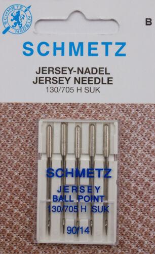 5 schmetz Jersey-aiguilles force 90 pour machines à coudre