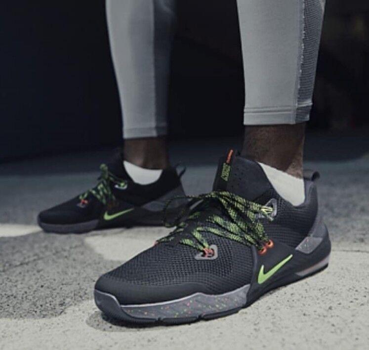 0a9e6eacdde16 Nike Air Zoom Train Command Noir Flyknit Gym Boxing Shoe Trainer femmes Men7
