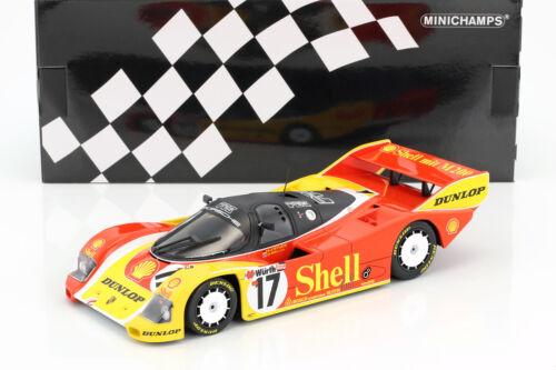 Bell 1:18 Minichamps Porsche 962C #17 3rd 200 Meilen von Nürnberg 1987 Stuck