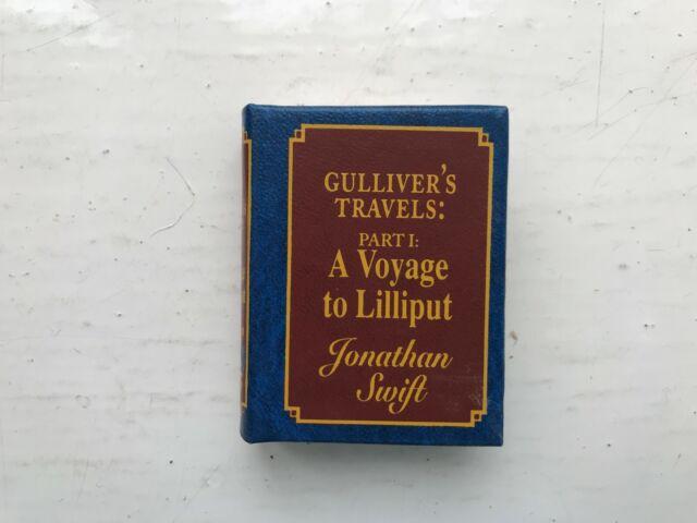 Del Prado Miniatur Buch Gullivers Reisen Teil 1 eine Reise nach Lilliput J. Swift
