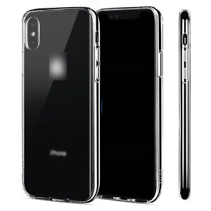 For-Apple-iPhone-6-6S-7-8-Plus-X-Case-Crystal-Clear-Slim-Light-Shockproof-Cover