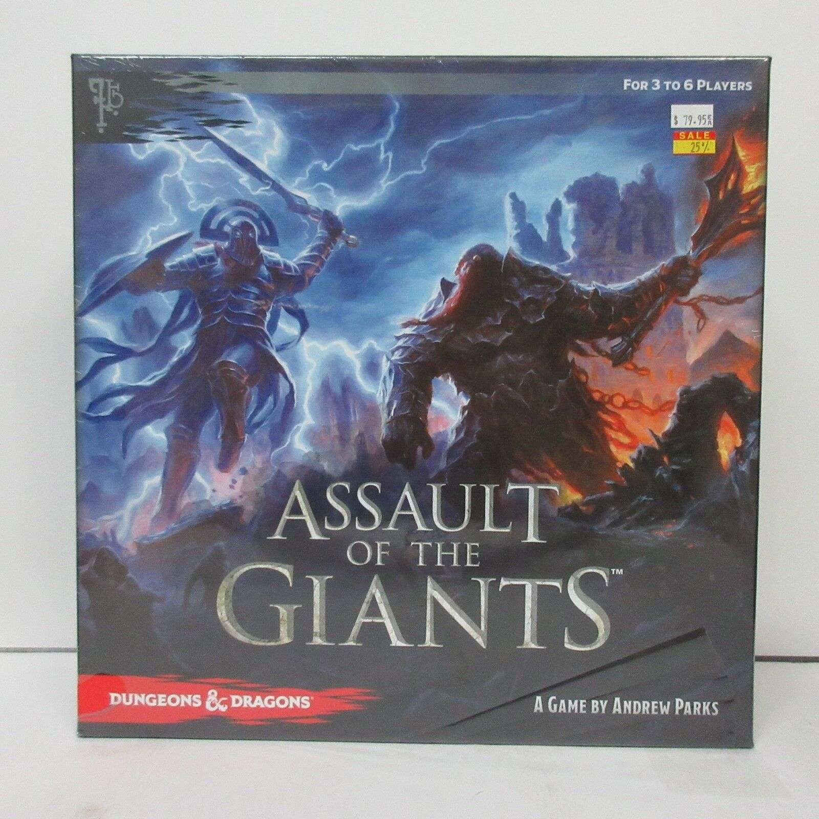 Wizkids Asmodee D&D Dungeons & Dragons Assault of the Giants NEW