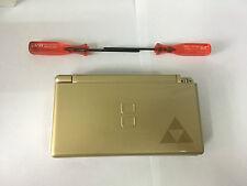 Austausch Ersatz Komplett Gehäuse für Nintendo DS Lite NDSL Gold Zelda Edition