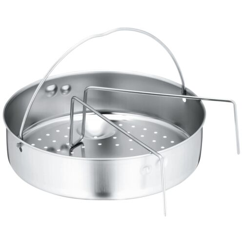 WMF Pentola a pressione-INSERTO-Set 2 pezzi Ø 22 cm