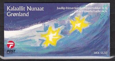 2001 Weihnachten 374-75 Markenheftchen **, GroßE Sorten Ausdrucksvoll GrÖnland 25988