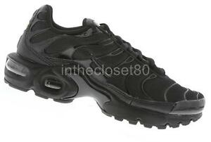 nike tn trainers black