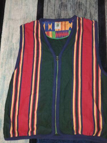 Vintage Cross Colours Vest.