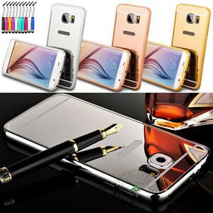 New-Fashion-Removable-Mirror-Back-Cover-Metal-Aluminum-Bumper-Frame-Shell-Case
