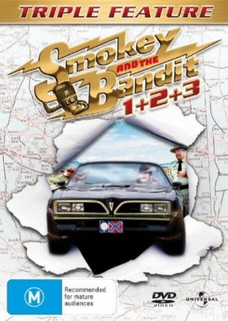Smokey And The Bandit Triple Pack (DVD, 2007, 3-Disc Set)
