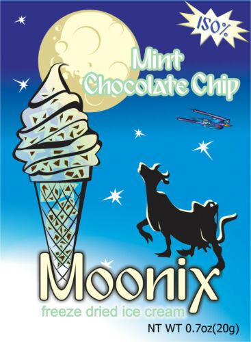 150/% Moonix Freeze Dried Ice Cream 1ct