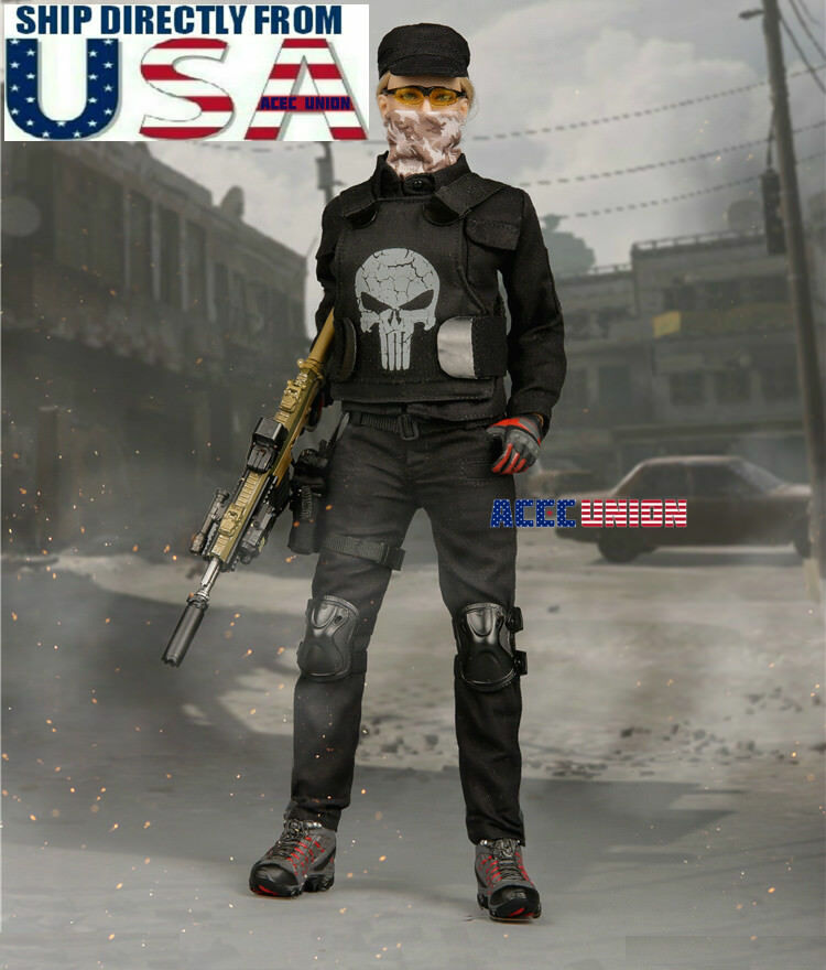1 6 Tactical Combat Clothing Set  A For 12  Phicen Hot Toys Female Figure U.S.A.  jusqu'à 65% de réduction