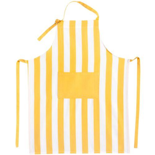 Kracht Kochschürze Grillschürze Küchenschürze Schürze Streifen 100/% Baumwolle