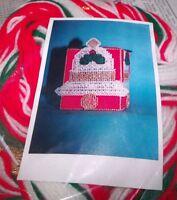 Design Works Christmas Bells Tissue Box Cover Plastic Canvas Kit