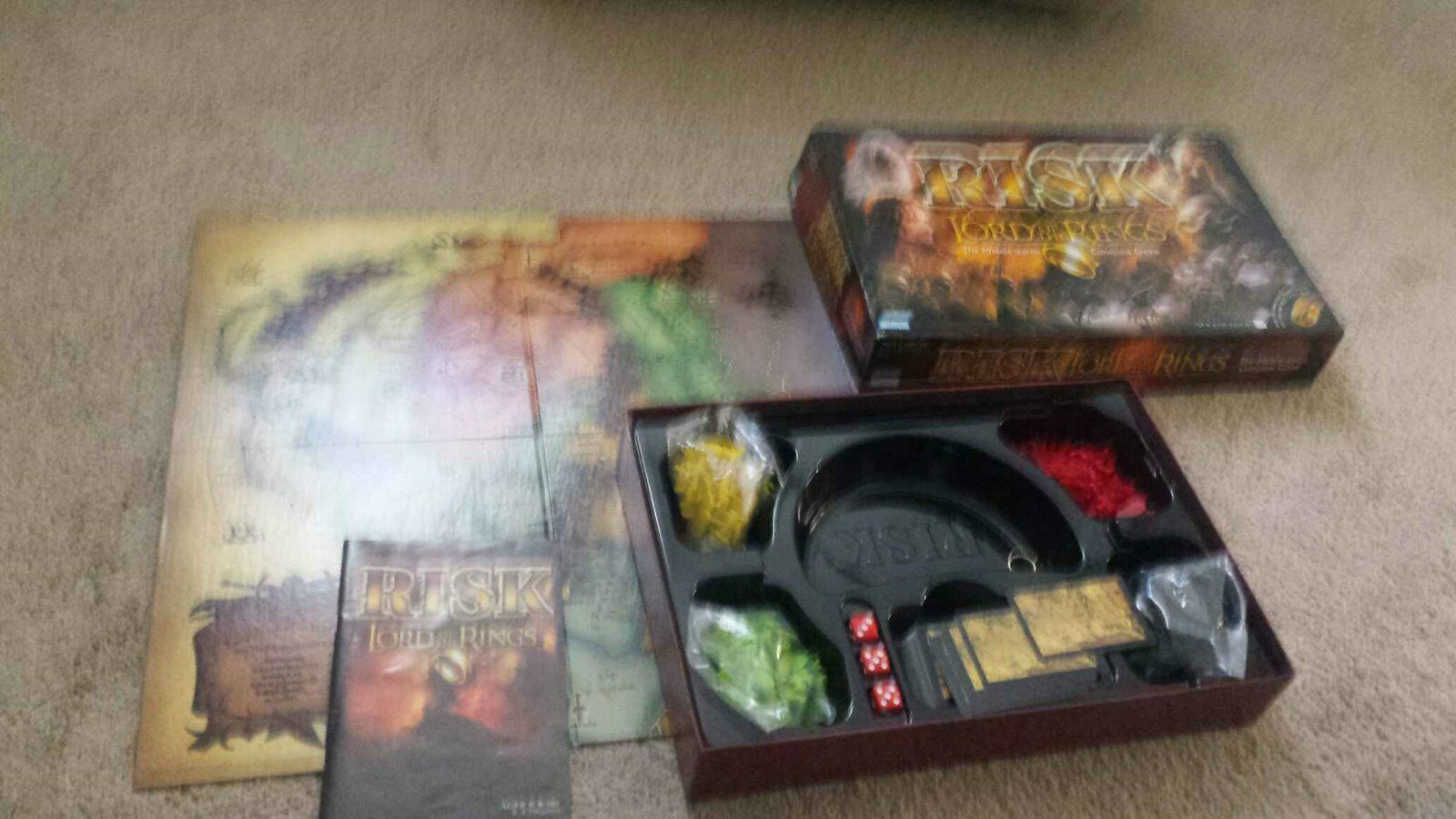 Games - Electronic Battleship and Risk Lord of the Rings Version
