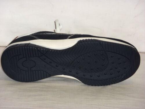 Uomo N Blu Microfibra Allacciate Casual Pelle Scarpe E Nabuk Tennis 43 UdwqaAP6Ax