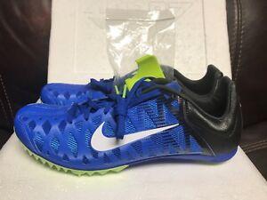 634833764733d Nike Zoom Maxcat 4 Hyper Cobalt Black Ghost Green White 549150-413 ...