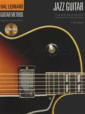 Hal Leonard JAZZ GUITAR Metodo SCHEDA MUSICA LIBRO CON CD impara a giocare