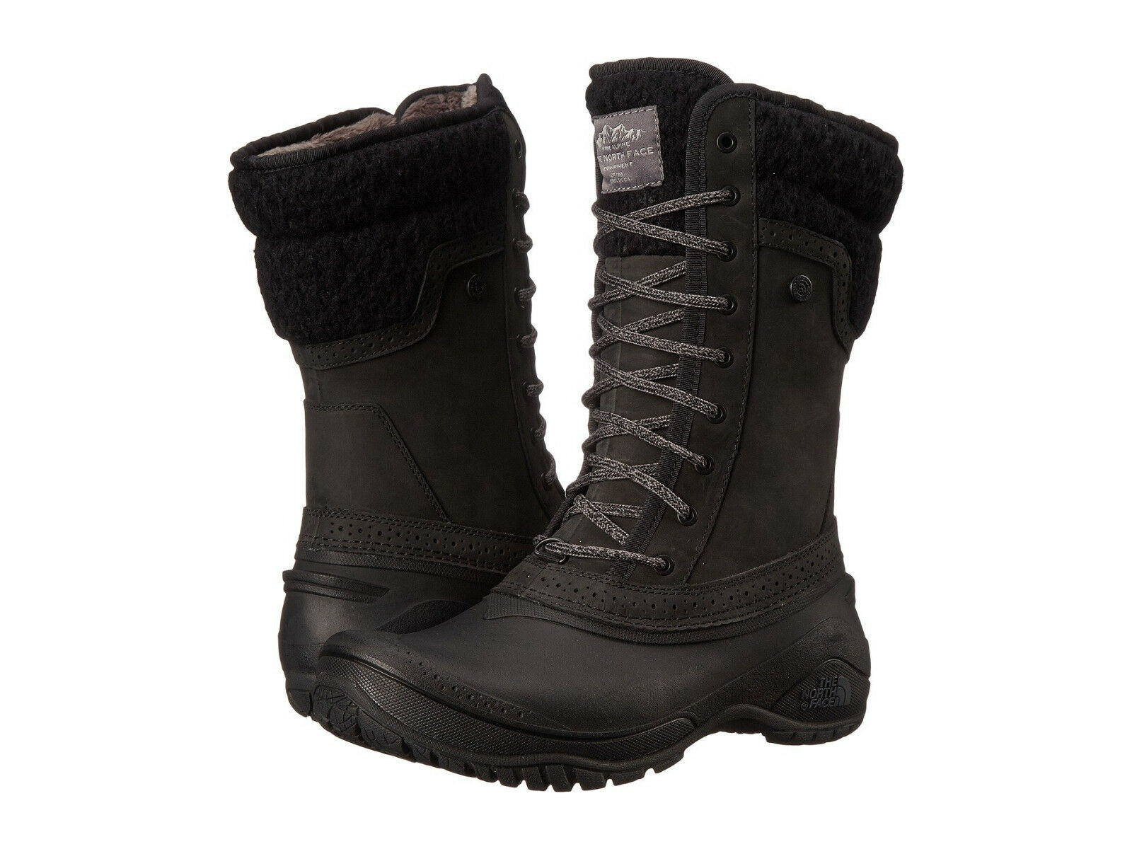 New Womens The North Face Shellista II Mid Black Waterproof Boots NF00CVX2DXW