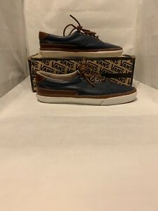 619fa87efe Vans CA (California) Era 59 CA x Offspring UK Dress Blues Brown ...
