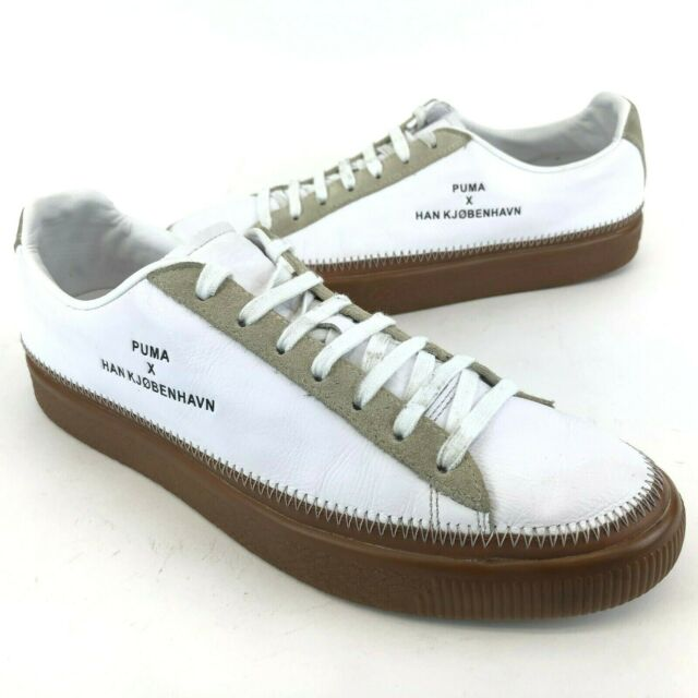 the latest e8248 627c7 Puma x Han Kjobenhan Sneakers Trainers Clyde Stitched White Shoes Mens US 11