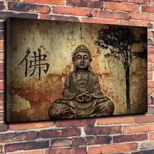 "Budda, Buddhism Printed Canvas A1.30""x20""~Deep 30mm Frame Spiritual Healing V2"