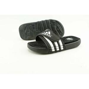 cc05c8f38759 adidas Adissage K Youth US 2 Black Slides Sandal Pre Owned 1821