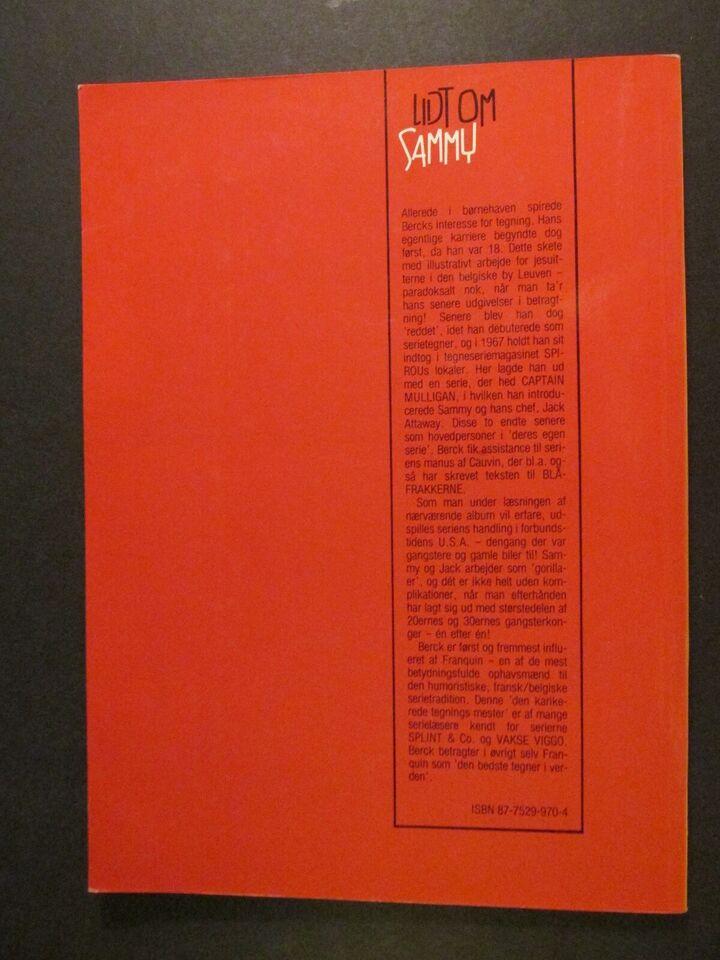 Tegneserier, Albumklubben Trumf : Album nr. 2 : Sammy og