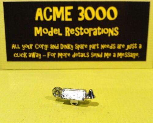 Corgi 213 Jaguar 2.4 Litro fuego jefe reproducción REPRO Cromo Caja De Techo /& Bell