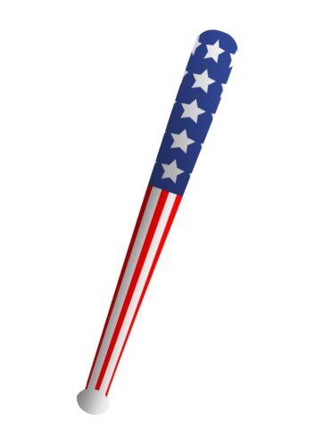 X99 388 4//8//12//16 Inflatable American Baseball Bat 85cm Accessory Prop