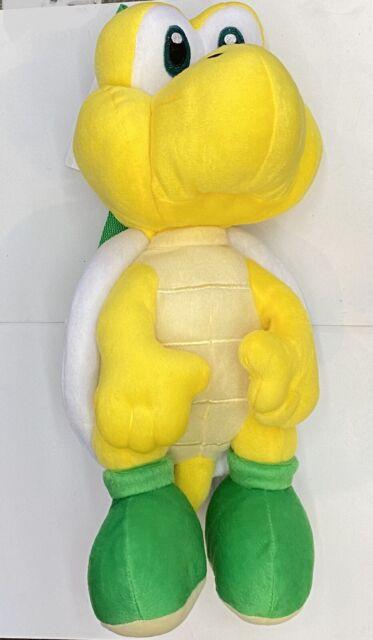 """Super Mario -Koopa Troopa- 15"""" Plush Backpack Bag Nintendo"""