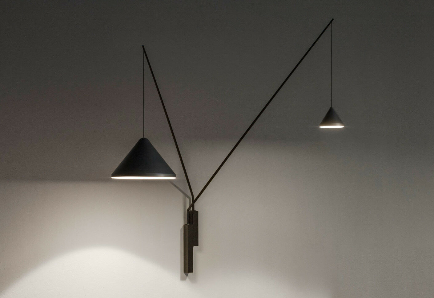 UE- Vibia - NORTH 5640 - Lampada da parete Wall lamp