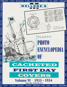 Mellone-039-s-Planty-Photo-Encyclopedia-of-Cacheted-FDCs-Volume-VI-1933-34-issues