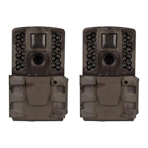 Moultrie-A-40-Pro-14MP-Low-Glow-Long-Range-Infrared-Game-Trail-Camera-2-Pack
