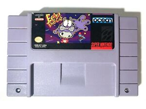 RARE-EEK-THE-CAT-Super-Nintendo-SNES-GAME-AUTHENTIC-Tested-Working