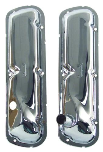 1965-66 Ford Mustang Valve Cover 289 V8 Chrome Pair New Dii