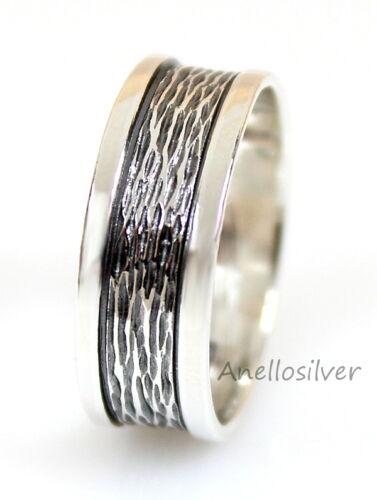 Magnifiques Ring Bague Bagues Alliance Anneau Argent 925 avec Gravure Gratuite