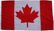 Flagge Kanada 90 x 150 cm mit 2 Messing Ösen Hissen Hissfahne Canada Flag Fahne