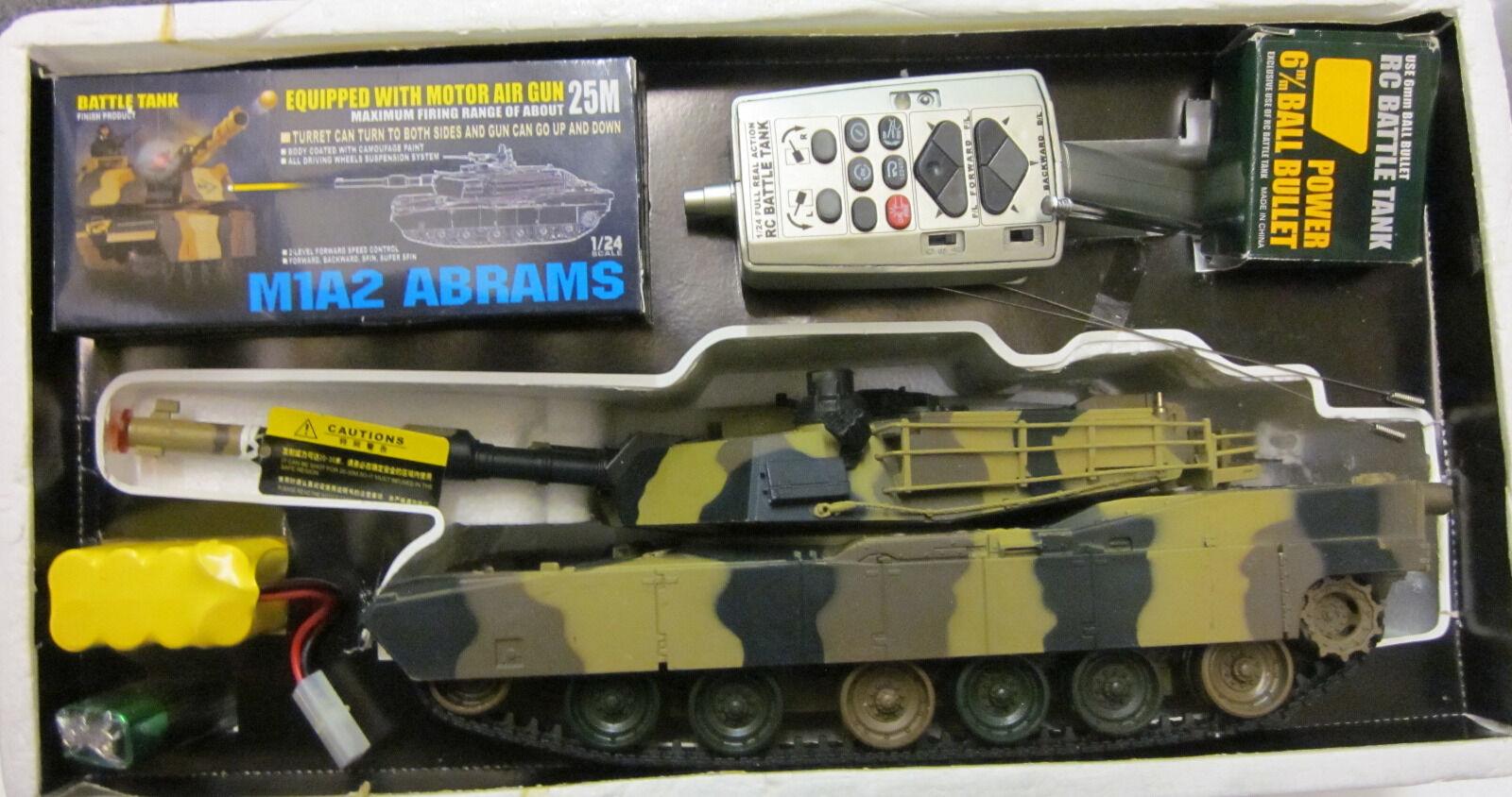 Ferngesteuerter Panzer  1 24 Abrahams