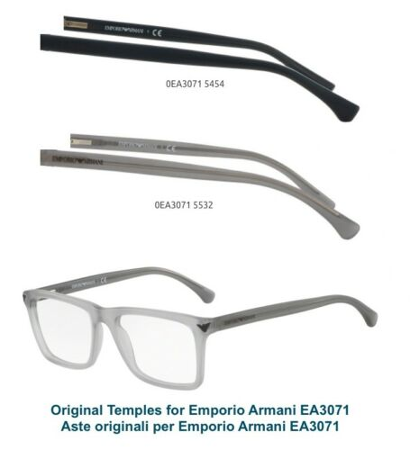EMPORIO ARMANI EA 3071 TEMPLES GENUINE REPLACEMENT EA 3071 ASTE ORIGINALI