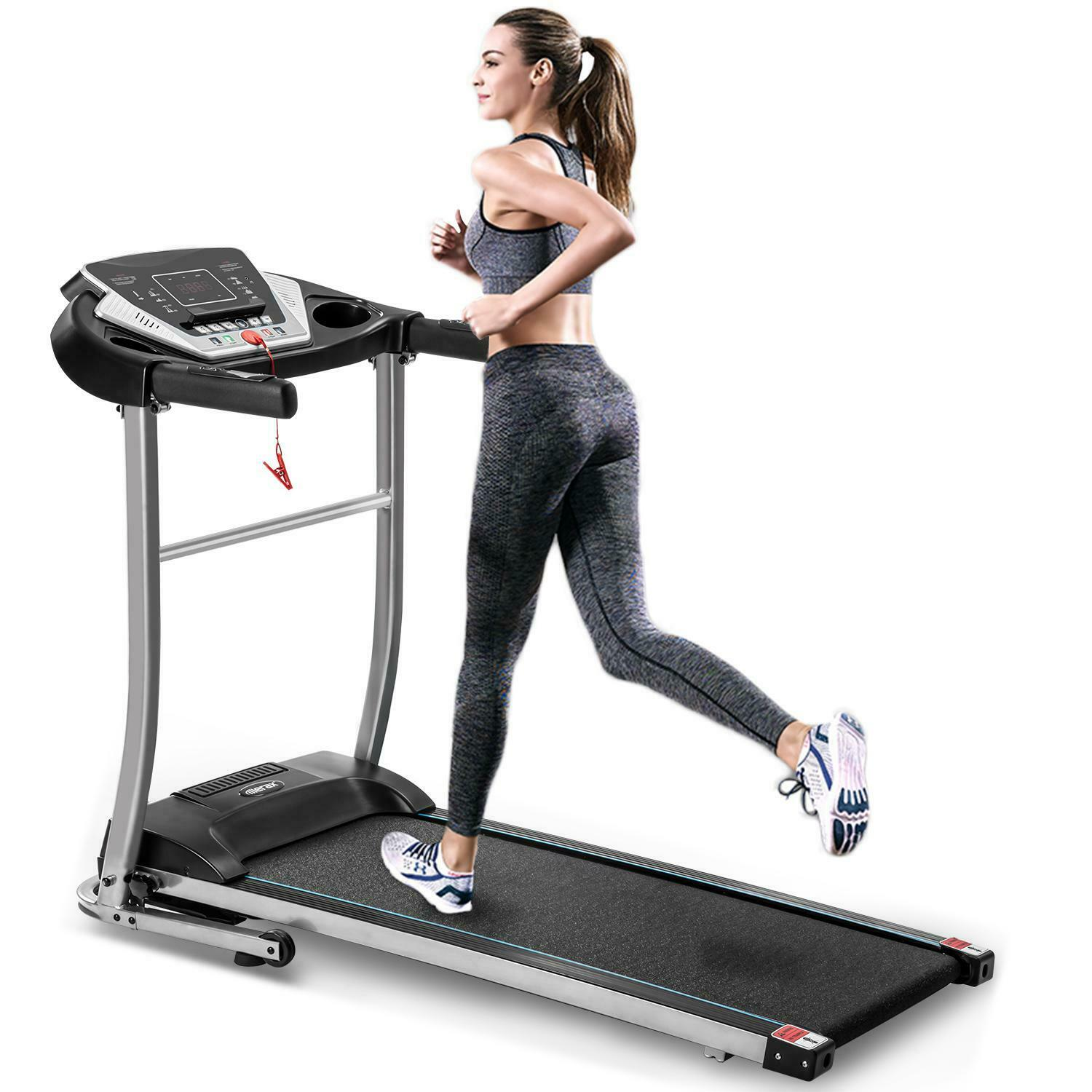 1.5 HP Easy Assembly Folding Electric Treadmill Motorized [Hot] Running Machine